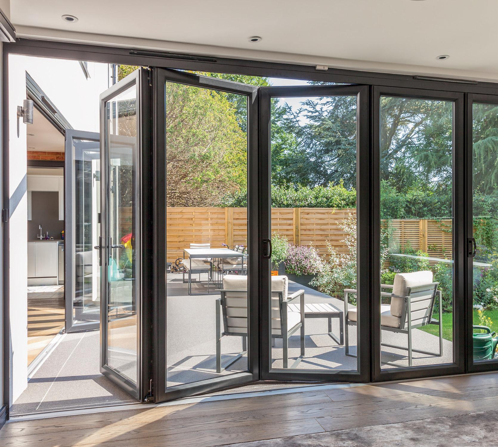 Bi-Fold Doors Dudley & Double Glazing Dudley   Double Glazing Prices West Midlands ...